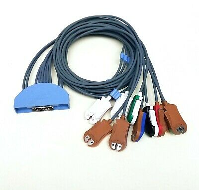 Midmark IQecg, Leads Cable (Pinch) For Use w/ USB EKG, ECG System