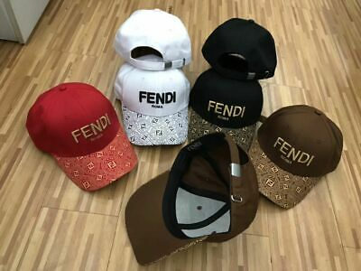NEW Fendi Roma Hat Embroidery Baseball Adjustable Cap Unisex Free Shipping