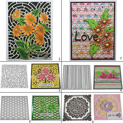 Metal Frame Cutting Dies Stencil DIY Scrapbooking Paper Card Embossing Craft Art