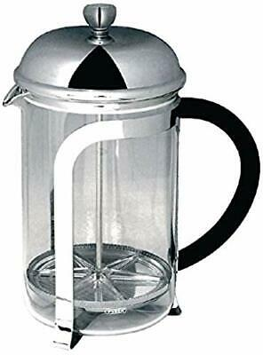 Cafetiere - Finition chromee