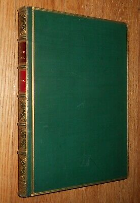 1853 Signed Fine Binding W H Bartlett Pilgrim Fathers or Founders of New England