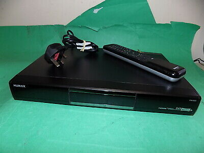 Humax PVR-9300T (320GB) DVR Freeview recorder HDMI Black with Remote