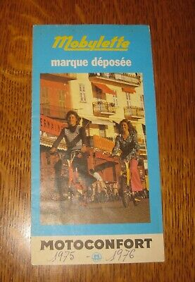 catalogue mobylette motoconfort 1975 1976