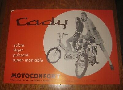 catalogue motoconfort cady c1pr c1prt c1 standart et demontable