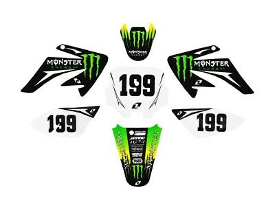 Kit déco ONE INDUSTRIES - Monster - Type CRF70 - Dirt Bike