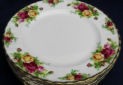 Royal Albert OLD COUNTRY ROSES salad plate up to 8 available in stock