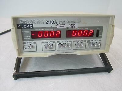 Valhalla Scientific Inc. 2110A Digital Power Analyzer Factor Meter