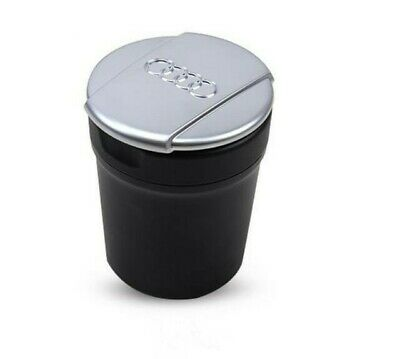 Audi Car Ashtray Storage Cup Bin Coin Holder 8UD857951 Large NEW