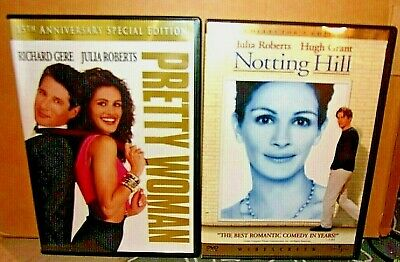 Pretty Woman--15th Anny.SP.ED.+Notting Hill--Julia Roberts DOUBLE FEATURE!