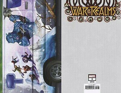 War of the Realms #3 Horn Van Variant Cover STOCK PHOTO Marvel 2019 00381