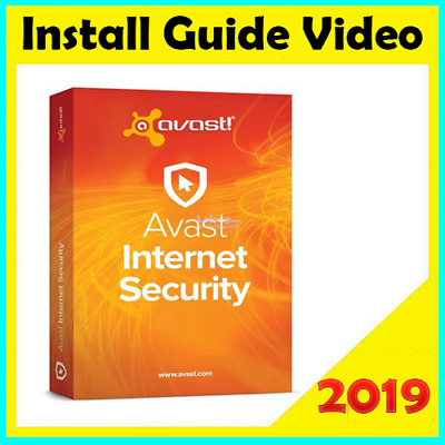 Instant Delivery Avast Internet Security 2019 Antivirus & Activation Key 400days