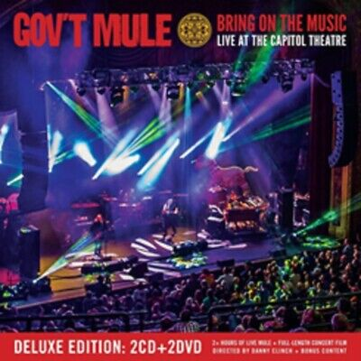 Gov't Mule - Bring on the Music- New 2CD/2DVD - Pre Order 19th July