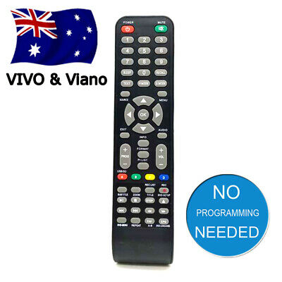 NEW VIVO & Viano TV REMOTE CONTROL For LCD LED COMBO(WITH DVD) TVS & VIVO TVS