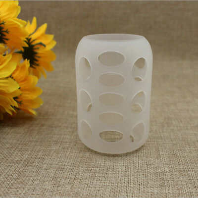 Porable Silicone Glass Baby Feeding Cover Bottle Sleeve Protect Insulation KK