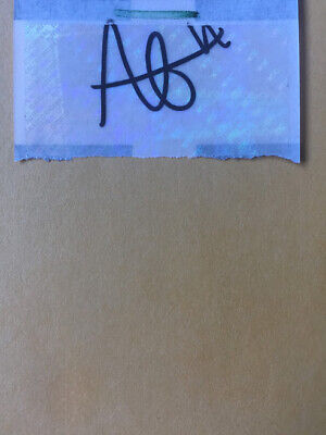 Alexis Lafreniere Signed Autograph Sticker Perfect For Rookie Card 2020 DRAFT