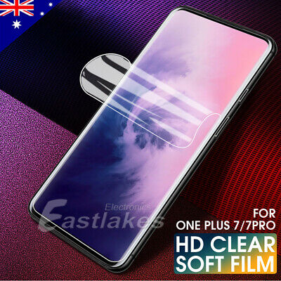 OnePlus 7 Pro 7 HYDROGEL AQUA FLEX Crystal Full Cover Coverage Screen Protector