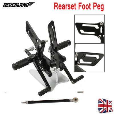 Rearsets Rear Sets Footpegs GSXR 600 750 GSX R 1000 SV 650 / S 00 01 02 03 04 05