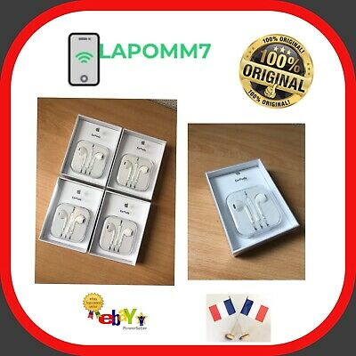 Earpods Iphone 5 6 6S  Ecouteur Kit Mains Libre Piéton Md827