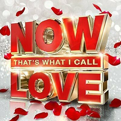 NOW THAT'S WHAT I CALL LOVE (2016) 61-track 3xCD set NEW/SEALED James Arthur