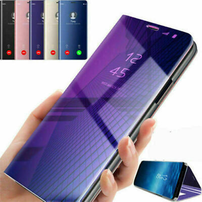 Coque Housse Etui Flip Clear View Transparent Pour Xiaomi Mi8 Redmi Note6 Pro 6A