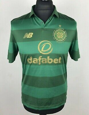 3c097b649 Celtic FC 2017/2018 NEW BALANCE Away Football Shirt Men's Size S Soccer  Scotland
