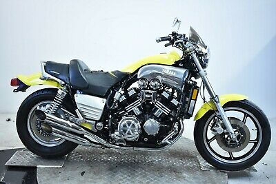 Yamaha V-Max-1986-Yellow-Nice-Fresh Jap Import-Easy Summer Project-No Reserve ..