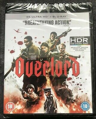 4K Ultra HD Blu Ray UK OVERLORD New & Sealed JJ ABRAMS STAR WARS DIRECTOR