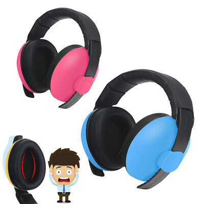 BABY Childs Ear Defenders Earmuffs Protection 2 COLOURS 0-5Yrs + Boys Girls