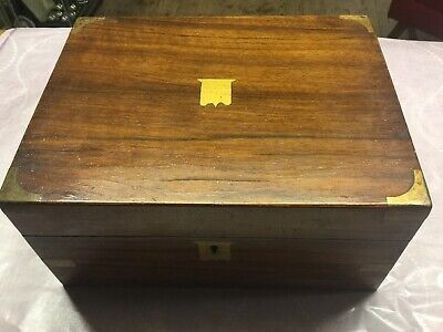 Old Antique Wooden Writing Box