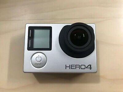 Gopro Hero 4 Silver (4batteries,charger,filters)