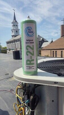 R22 1.9lb ProCharge Products with UV Dye and leak stop !With Charging hose!R22