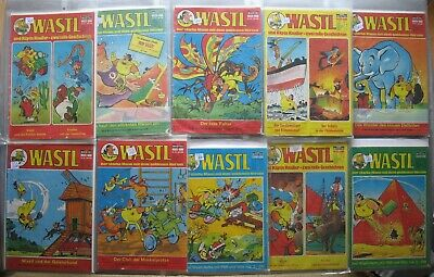 Wastl Comic Bastei Collection in 3 Folders 95 Piece Issues