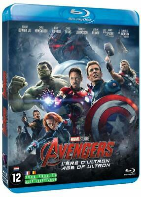 Coffret Bluray Avengers: L'ère d'Ultron avec Robert Downey Jr, Chris Hemsworth..