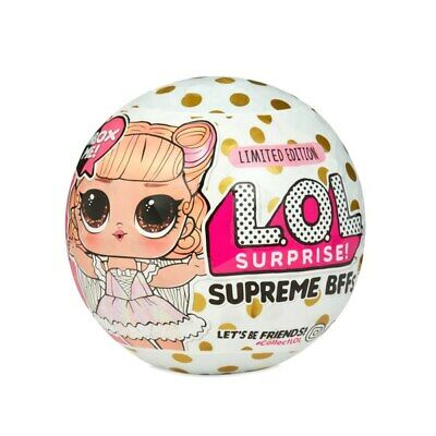 LOL Surprise Supreme BFF Doll Assortment Girls Limited Edition IN HANDS