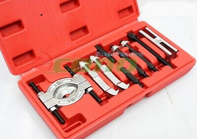 Mini 9pc Bearing Puller Separator Set  30-50mm Pull Out Jaw Gear Pulley Removal