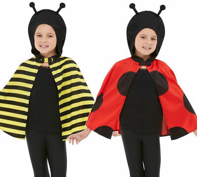 Bumblee Bee Ladybug Childrens World Book Day Fancy Dress Costume Kids Outfit