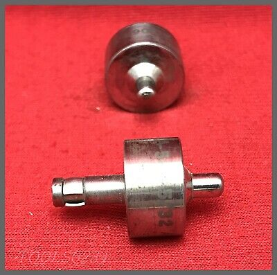 """California Aircraft Dimple Punch #AT206A-5-R - 5/32"""" X 3/8"""" X .187"""" - Lot of 2!"""