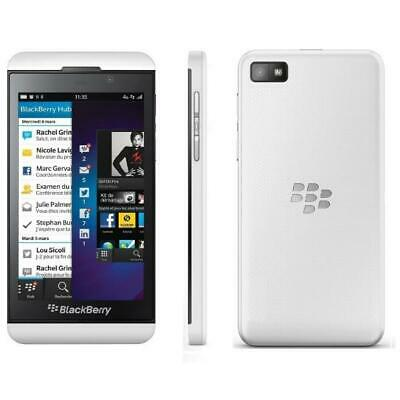 BLACKBERRY Z10 16GB White (Unlocked) Smartphone Brand New Boxed +  Accessories