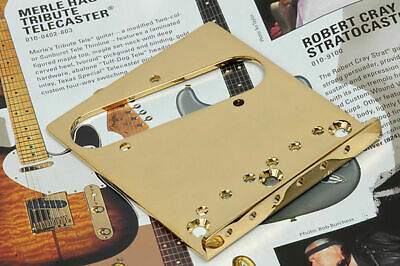 Genuine Fender American Series Telecaster Tele Gold Bridge Plate 0038996000 NEW!