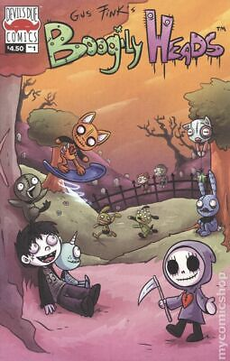 Boogily Heads (Devil's Due) 1A 2019 Pendl Variant VF Stock Image