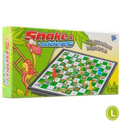 Snakes and Ladders Traditional Large Board Game Childrens Family Kids Adults Toy