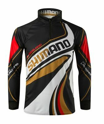 6a826258 Breathable Shimano Fish Jersey Tournament Fishing Shirt Outdoor  Quick-drying UV