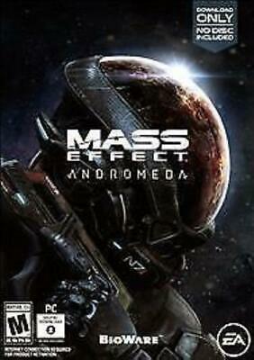 NEW Mass Effect: Andromeda (PC, 2017)