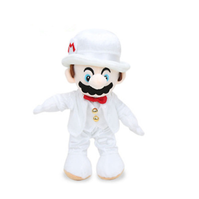 Super mario bros brothers Odyssey plush 10' stuffed toy doll wedding NEW