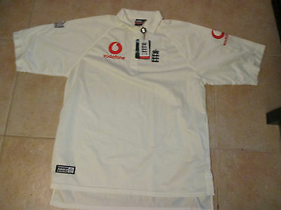 a0240ebf226 Vintage Admiral England National Men's Rugby Team 2Xl Sewn Ivory Jersey Nwt  2000