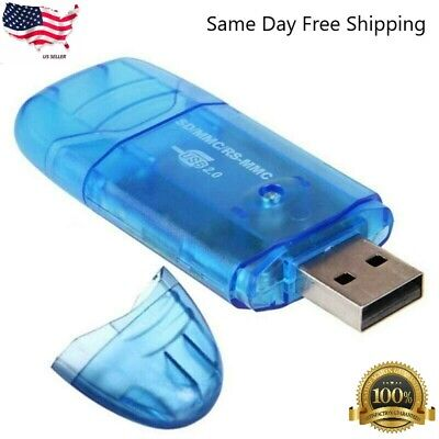 7-IN-1 USB 2.0 MEMORY CARD READER FOR SD/MMC/SDHC New