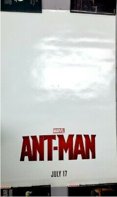 ANT-MAN MOVIE POSTER 2 Sided ORIGINAL PAUL RUDD