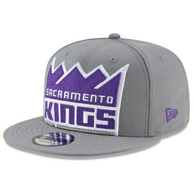 check out 4ac46 caf06 Sacramento Kings New Era Y2K Big Under 9FIFTY Adjustable Snapback Hat - Gray