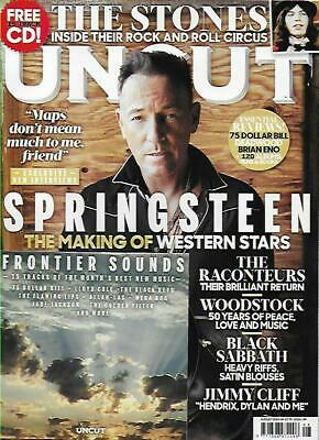 UNCUT MAGAZINE - August 2019 (NEW/) *Post included to UK/Europe/USA/Canada