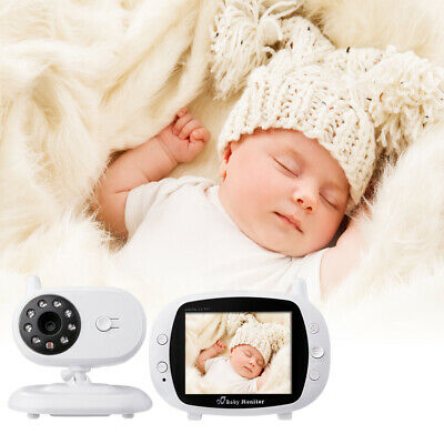"""3.5"""" Audio Video Baby Monitor Wireless Camera Night Vision Safety Viewer HS667"""